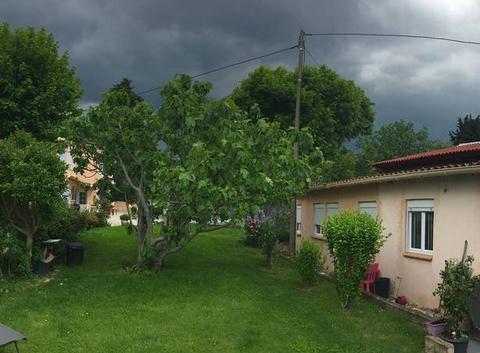 Temps tres orageux