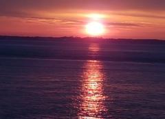 Ciel Le Verdon-sur-Mer 33123 Lever de soleil avant la pluie