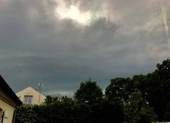 Ciel Dammarie-les-Lys 77190 Orage