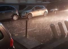 Pluie Paris 75000 Il pleut