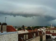 Orage Corbeil-Essonnes 91100 Juste avant l'orage
