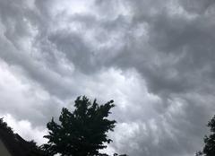Orage Monce-en-Belin 72230 L?orage arrive