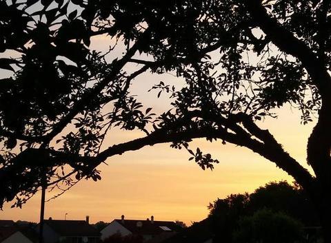 Lever de soleil su Metz