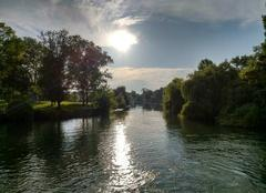 Ciel Chaniers 17610 Moulin de la Baine