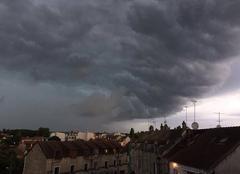 Orage Pringy 77310 Avant l'orage