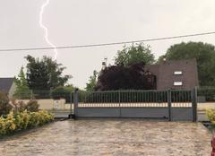 Pluie Marigny-les-Usages 45760 Orages sur le loiret