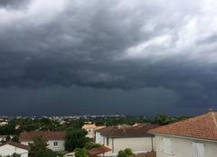 Orage Gond-Pontouvre 16160 L?orage arrive sur angouleme