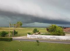 Nuages Foussignac 16200 L'orage arrive
