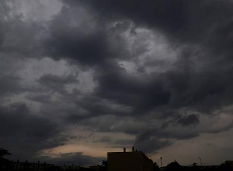 Beau ciel d'orage