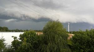 Orage Chambray-les-Tours 37170 Ciel menaçant