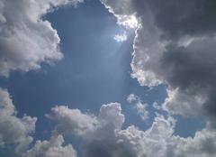 Ciel Saintes 17100 Avant l'orage...