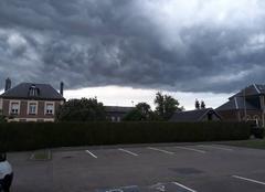 Ciel La Remuee 76430 Nuage d'orage