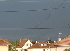 Orage Courseulles-sur-Mer 14470 Approche d'un orage