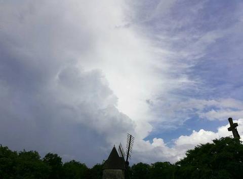 Orage au Mont Des Alouettes