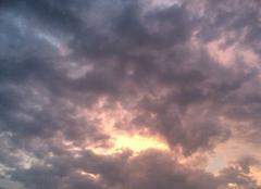 Ciel Plouha 22580 Ciel de Plouha avant l'orage et après le coucher de soleil