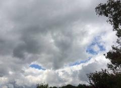 Ciel Bourbriac 22390 Un bien curieux visage dans le ciel de Bourbriac
