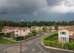 Nuages Toulouse 31000 Orage sur toulouse