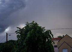 Pluie Charleville-Mézières 08000 Orage