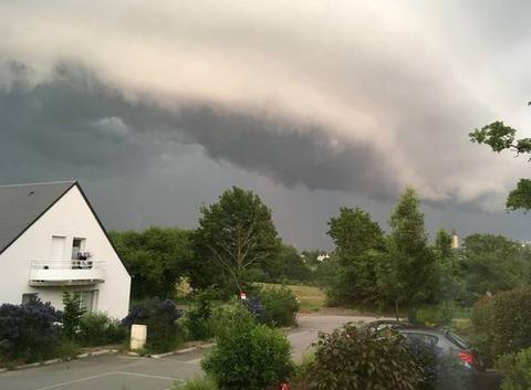 L?orage approche