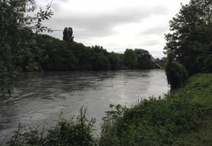 Nuages Romans-sur-Isere 26100 Après l'orage de grêle