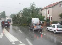 Orage Saint-Nicolas-de-Port 54210 Coup de vent