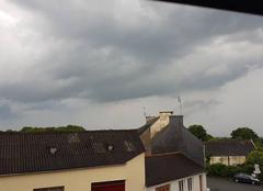 Pluie Querrien 29310 Pluie orage