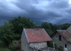 Ciel Arcis-le-Ponsart 51170 Début d?orage