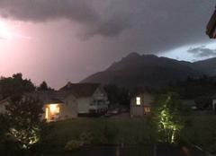 Ciel Saint-Pierre-en-Faucigny 74800 Thunderstorm
