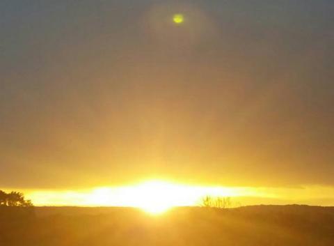 Orage & soleil
