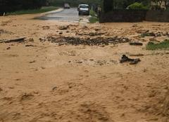 Orage Saint-Sever 40500 Inondations ST SEVER 40