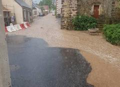 Catastrophe Sainte-Osmane 72120 Torrent de boue