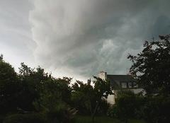 Orage Lanmeur 29620 Arrivé de l'orage 2