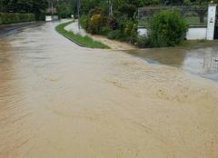 Pluie Soumoulou 64420 Innondation