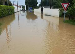 Pluie Soumoulou 64420 Inondation
