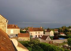 Orage Souppes-sur-Loing 77460 Orage en approche