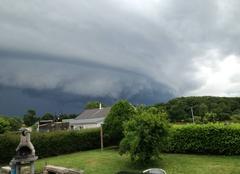 Orage Henansal 22400 Arrivée de l'orage