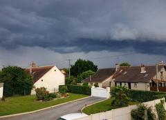 Orage Mennetou-sur-Cher 41320 Arrivée des orages par le sud du loir-et-cher