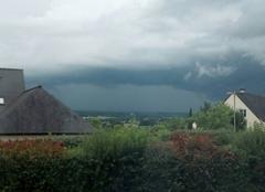 Nuages Pouance 49420 L'orage approche
