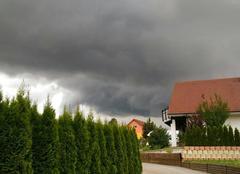 Ciel Villers-le-Lac 25130 L'orage approche