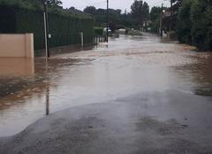 Pluie Casteljaloux 47700 Inondation