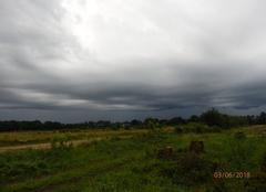 Orage Laval 53000 Arrivée de l'orage