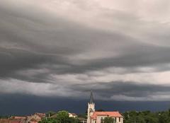 Ciel Lesmenils 54700 L?orage arrive