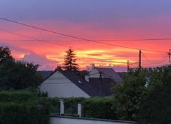 Ciel Moret-sur-Loing 77250 Ciel en feux