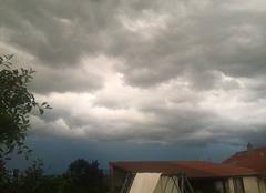 Ciel Goviller 54330 Ciel orageux