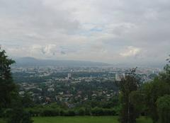 Nuages Grenoble 38000 Grenoble depuis ses hauteurs