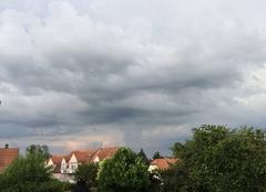 Nuages Rosheim 67560 Approche d?un orage