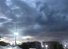 Ciel Cannes 06400 Fin du jour