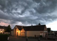 Orage Mothern 67470 Le ciel se déchaine avant l?orage