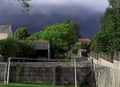 Orage Champtoceaux 49270 Ca monte les orages sur Champtoceaux !!!