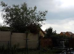 Orage Champagne 72470 La pluie arrive avec orage dans la Sarthe